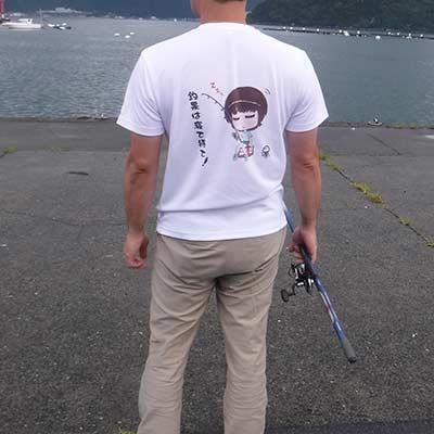 40代・男性・梅さんのオリジナルプリント作成事例丨オリジナルTシャツTMIX