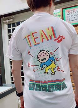 10代・女性・ゆうゆさんのオリジナルプリント作成事例丨オリジナルTシャツTMIX