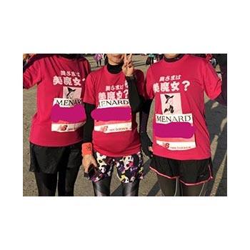 50代・女性・リラックスさんのオリジナルプリント作成事例丨オリジナルTシャツTMIX