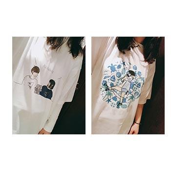 20代・女性・yu.pao!さんのオリジナルプリント作成事例丨オリジナルTシャツTMIX
