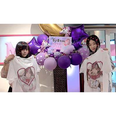 20代・女性・Hitemuさんのオリジナルプリント作成事例丨オリジナルTシャツTMIX