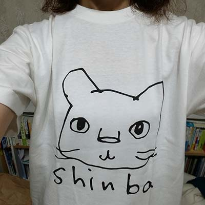 40代・女性・らいおんさんのオリジナルプリント作成事例丨オリジナルTシャツTMIX