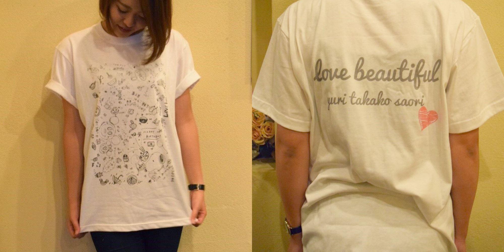 10代・女性・ちゃあさんのオリジナルプリント作成事例丨オリジナルTシャツTMIX