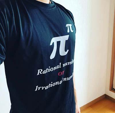 10代・男性・ともさんのオリジナルプリント作成事例丨オリジナルTシャツTMIX