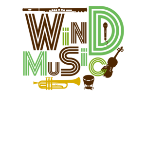 吹奏楽_楽器と文字