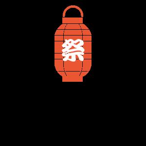 和柄_祭り・屋台Tシャツデザイン