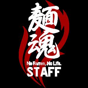 麺魂_ラーメン屋_スタッフTシャツデザイン