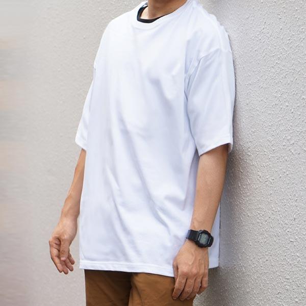 男性モデル 身長170cm / Lサイズ / ホワイト