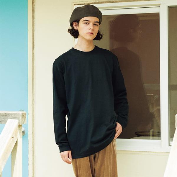 モデル身長175㎝/XLサイズ/ブラック着用