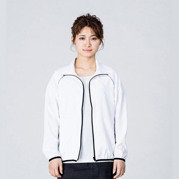 女性モデル身長 / 161cm / ホワイト / Sサイズ着用(正面・オープン)