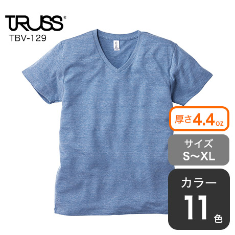 トライブレンドVネックTシャツ