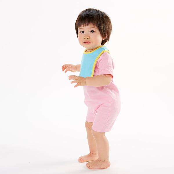 着用イメージ アクアブルー/イエロー モデル78cm 10kg