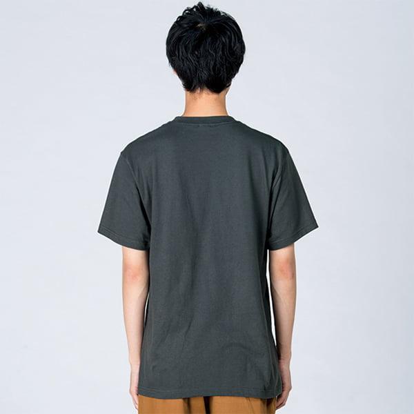 モデル身長182㎝/Lサイズ/デニム着用/背面シルエット
