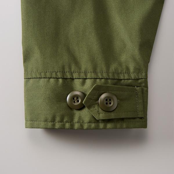 T/Cモッズコート(一重)の袖口