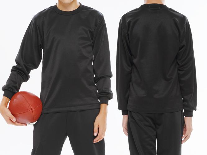 男性 ブラック着用イメージ ※ボールは付属しておりません。