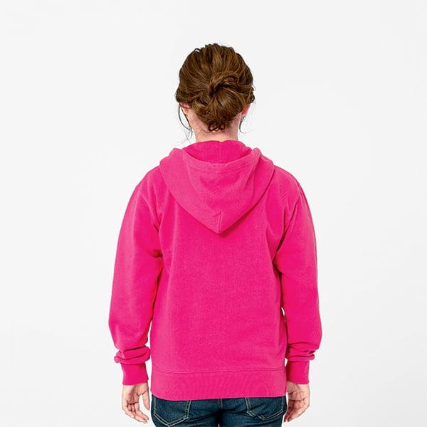 モデル身長161㎝/Sサイズ/フラミンゴピンク着用/背面シルエット