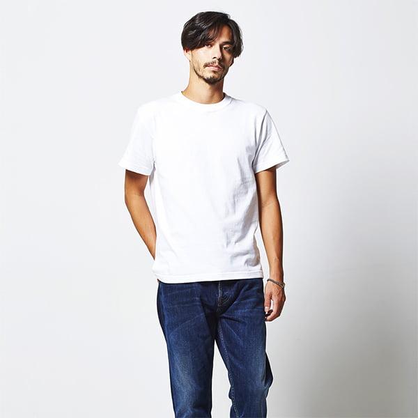 モデル身長182㎝/Sサイズ/ホワイト着用