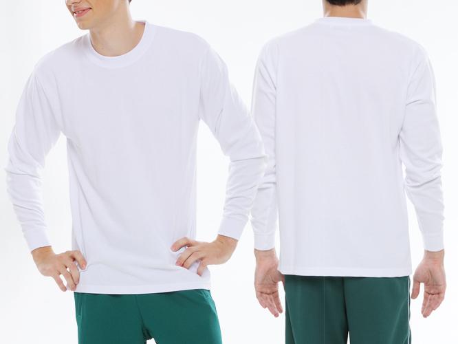 男性着用イメージ ホワイト