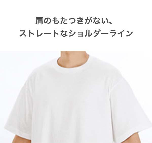 サイドネックから袖先までのシルエットを直線にすることで、トレンドライクな大きめサイズで着用した際にも肩先のもたつきが生まれない、綺麗なシルエットを表現しました。