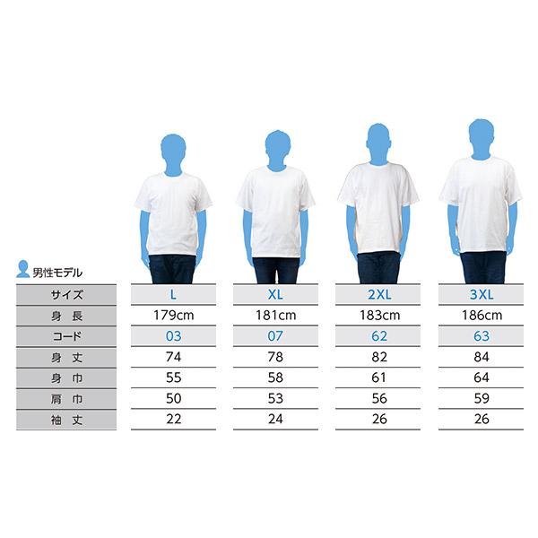 スーパーヘビーTシャツ L~3XLまでの着用感