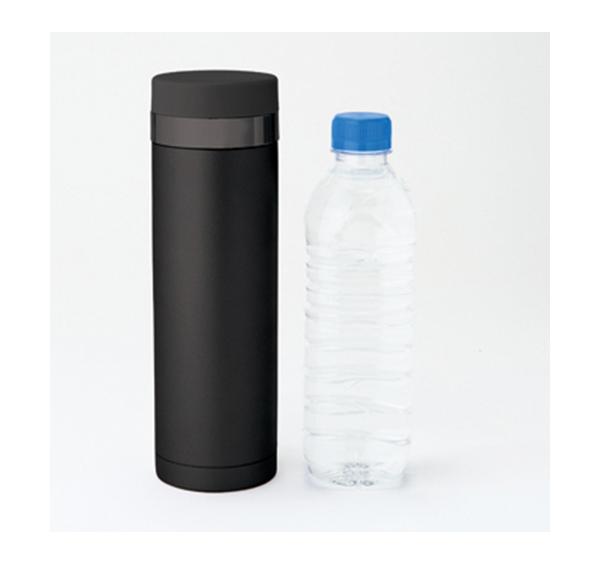 スリムサーモステンレスボトル500mlのサイズ感