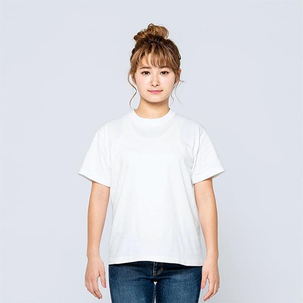 モデル身長161㎝/Sサイズ/ホワイト着用/正面シルエット