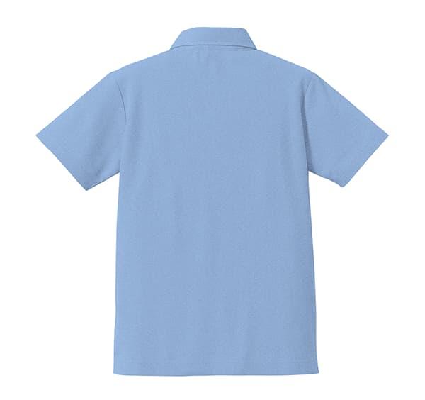 ドライカノコユーティリティーボタンダウンポロシャツのうしろ