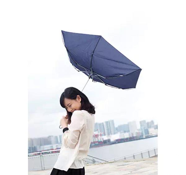 耐風UV折りたたみ傘のイメージ写真