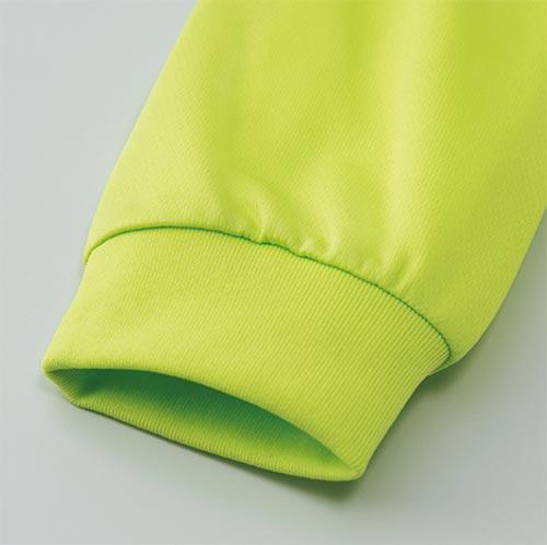 スポーツドライロングTシャツの袖