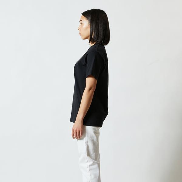 モデル身長160㎝/Sサイズ/ブラック着用/サイドシルエット