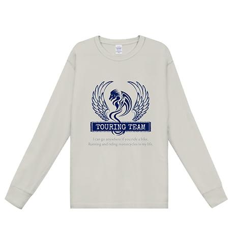 ピグメントダイロングスリーブTシャツ