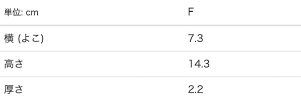 ポータブル&スタンドファンホワイトのサイズ表