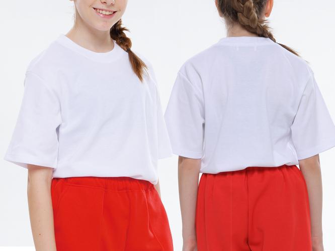 ジュニアサイズ着用イメージ ホワイト