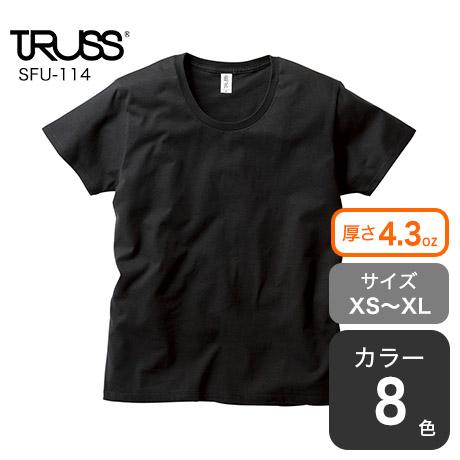スリムフィットUネックTシャツ