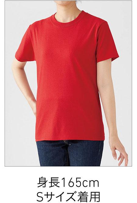 フルーツベーシックTシャツの着用写真 Sサイズ