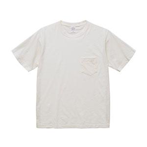 ポケット付きピグメントダイTシャツ