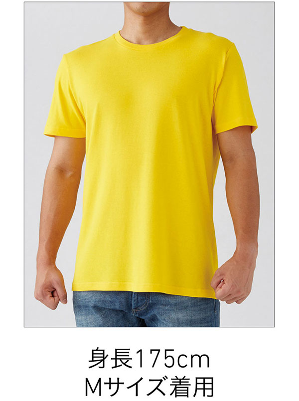 スタンダードTシャツの着用写真 Mサイズ