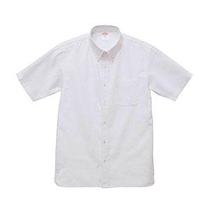 オックスフォードボタンダウンショートスリーブシャツ