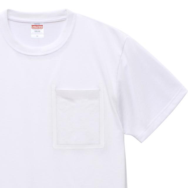 ドライポケットTシャツの首周りとポケット