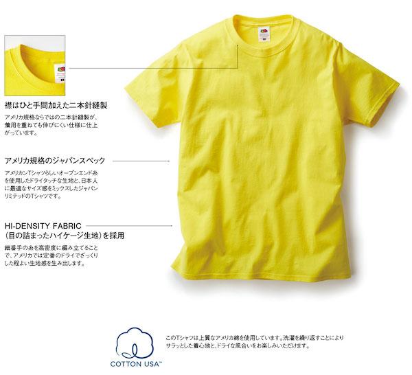 フルーツベーシックTシャツの詳細