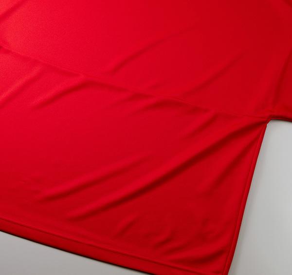 ドライアスレチックルーズフィットTシャツの裾