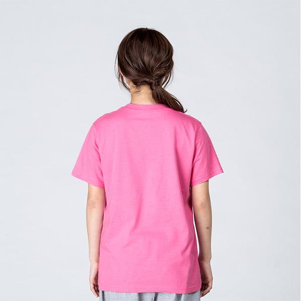 モデル身長161㎝/Sサイズ/ピンク着用/背面シルエット