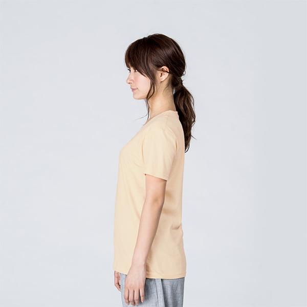 モデル身長161㎝/WLサイズ/ナチュラル着用/サイドシルエット