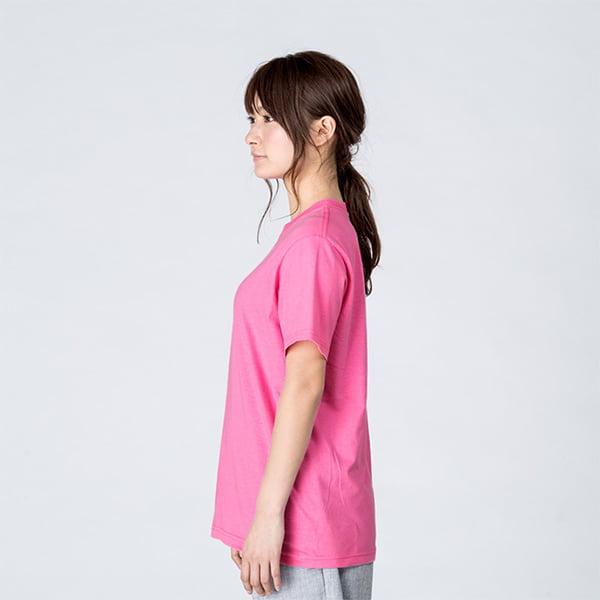 モデル身長161㎝/Sサイズ/ピンク着用/サイドシルエット