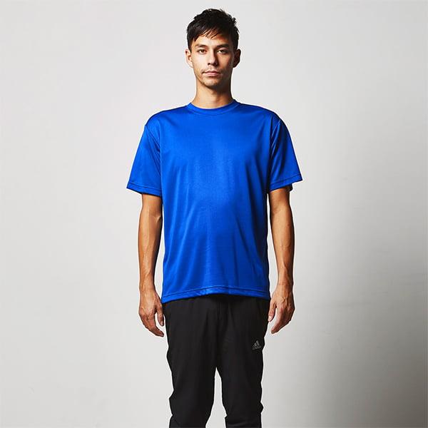 モデル身長190㎝/Lサイズ/コバルトブルー着用