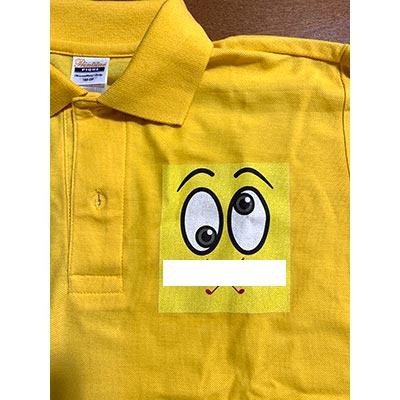 ゴルフコンペ主催者でオリジナルを着るためにお願いしました。 デザインや配置、大きさは思っていた通りで満足です。【30代・女性・M さん】