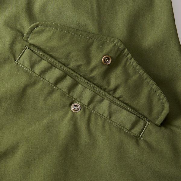 T/Cモッズコート(一重)のポケット