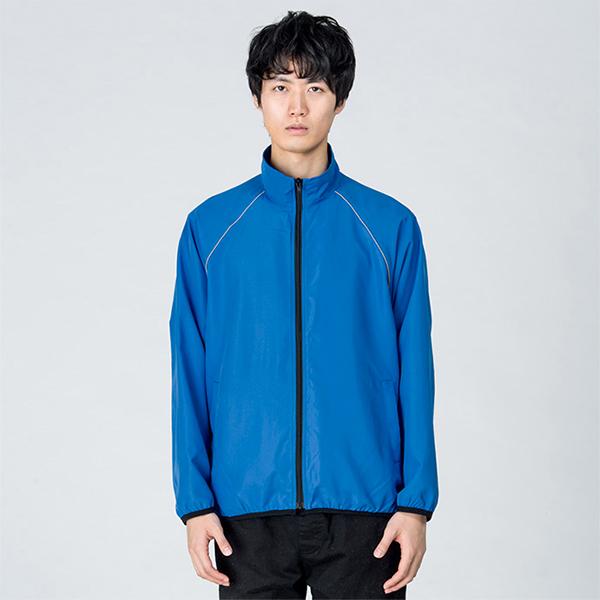 男性モデル身長 / 184cm / ブルー / Lサイズ着用(正面)
