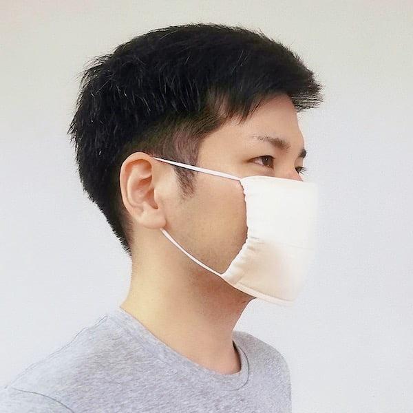 マスクの着用写真