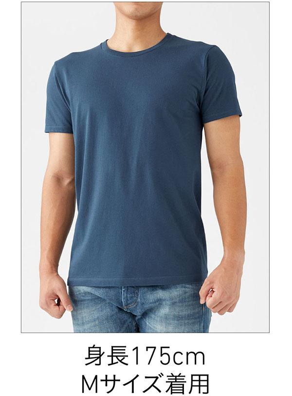 スリムフィットTシャツの着用写真 Mサイズ